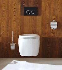 Wand WC WH-6030 Keramik Tiefspül Hänge WC mit Soft-Close WC-Sitz
