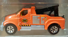 MATCHBOX EXCLUSIVE ORANGE TOW TRUCK WRECKER 5 PACK ON MISSION LOOSE DIECAST CAR