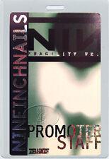 Nine Inch Nails 2000 Fragility Tour Laminated Backstage Pass Nin