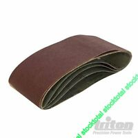 Bandas de lija100 x 610 mm, 5 pzas Abrasivo de óxido aluminio Grano 100  320806