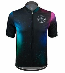 Aero Tech Sprint Jersey - Galaxy - Space Themed Bike Jersey Made in USA