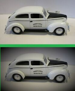 Liberty Classics - 1940 Ford - PA State Police Car Bank - Die Cast - Limited Ed.