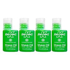 King of Shaves Supercooling Shaving Oil 15ml, Shaving Products For Men
