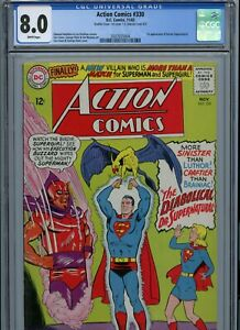 CGC 8.0 Action Comics #330 1st Appearance Doctor Supernatural
