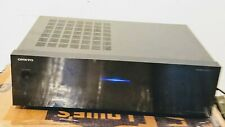 Onkyo M-5010 2 Channel Stereo Home Amplifier - Black/ power on/untested/AS IS