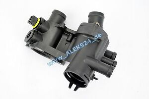 Thermostat Housing with Thermostat + Gasket 87°C for Seat Arosa Ibiza II 1.0 1.4