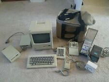 Vintage Apple Macintosh Desktop Computer - M0001 With Carrying bag + Extras!