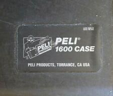 Peli Case 1600 + Rolling Kit