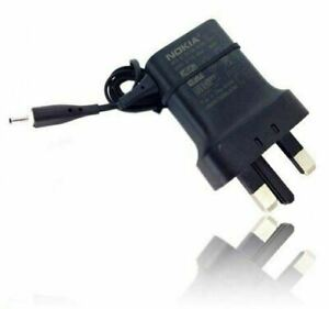 100% ORIGINAL NOKIA  AC-11X MAINS CHARGER THIN SMALL PIN, UK Plug  Fast Delivery