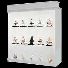 Light Lego display case such as organizer or container toy box (Light Cabin)