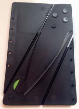 5 Pack Credit Card Folding Knives Survival Pocket Blade Tool