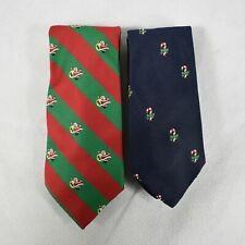 Country Clubs Alynn Neckwear Musical Holiday Christmas Novelty Ties Set of 2 New