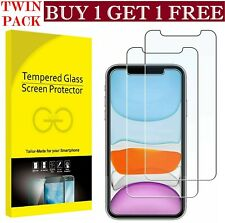 Gorilla Tempered Glass Screen Protector for New iPhone 12 11 Pro XR XS Max Cover