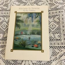 Vintage Greeting Card Birthday Daughter Fountain City Trees
