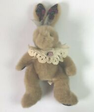 First and Main Rosemary Rabbit Plush Stuffed Animal 13 in. Sitting