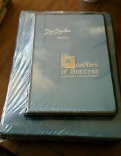 Zig Ziglar presents The Qualities of Success, a blueprint for achievement. New!