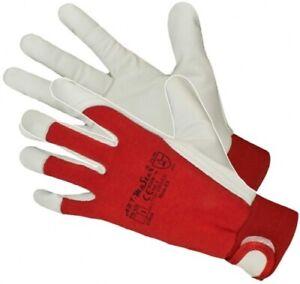 Work Gloves Hand Protection Goatskin Welding,Mechanics,Tradesman,Farmers,DIY
