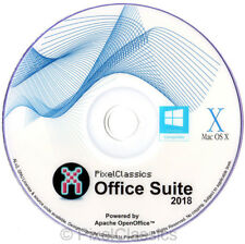 OPEN OFFICE 2018 2008 For Microsoft Windows 10 8.1 7 Home Student Professional