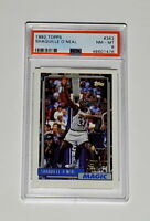 1992 Topps Shaquille O'Neal #362 Rookie PSA 8 NM-MT