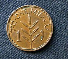 Munt Palestina/Palestine: 1 Mil 1939 (Brons)