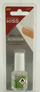 KISS Salon Dip Activator Bonds & Cures Layers - No UV Light Needed - NEW
