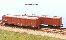 RIVAROSSI art. HR 6331 FS coppia carri tipo Eaos con carico rottami ep. IV-V