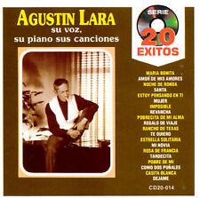 Lara, Agustin : Serie 20 Exitos CD