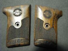Astra 200 FireCat English Walnut Checkered Pistol Grips w/Astra LOGO & Text NEW!