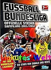 Topps-Football Championnat sticker 2011/2012 11 12 - 200 lots stickers + album
