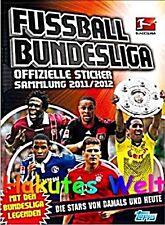 Topps-fútbol liga sticker 2011/2012 11 12 - 200 lotes sticker + Album