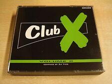 2-CD BOX / CLUB X - VOLUME II