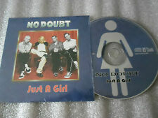 CD-NO DOUBT-JUST A GIRL-DON'T SPEAK-LIVE HAMBOURG,GERMANY-(CD SINGLE)97-2TRACK