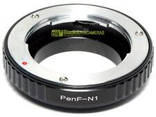 Adapter per montare obiettivi Olympus Pen F su corpi Nikon 1. Adattatore V1 J1