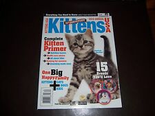 KITTENS  USA MAGAZINE....2012, ANNUAL ......KITTEN PRIMER....15th ANNIVERSARY..