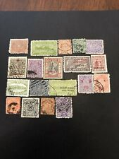 India States Used British Colony Stamps- Lot A-66566