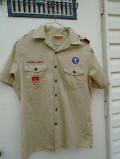 Youth Extra Large Boy Scouts of America Uniform Shirt Short Sleeve 18-20