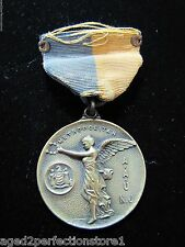 Antique 1929 AAU of NJ Metropolitan 100yd Feestyle Swimming Medallion Medal