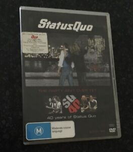 STATUS QUO - The Party ain't over yet .... 40 years of Status Quo - 2 DVD