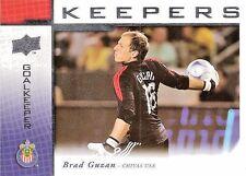 2008 Upper Deck Major League Soccer 'Keepers' Brad Guzan KP-2 Chivas USA
