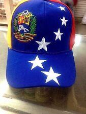 Hat Gorra Tricolor De Venezuela 8 Estrellas