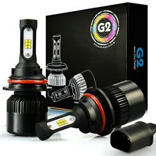 JDM ASTAR G2 8000LM HB1/9004 LED Headlight High Bulb White for Ford F Super Duty