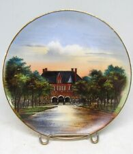 LONGFELLOW HIGH SCHOOL KEARNEY NEBRASKA Souvenir Plate  Jonroth Studios Germany