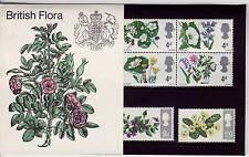 GB Royal Mail Stamps British Flora, Daisy, Primrose  1967 Presentation Pack PP17