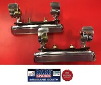 FORD F100 1973-1980 MUSTANG 1974-1978 LEFT & RIGHT CHROME OUTER DOOR HANDLES