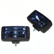 2 Pcs 12V Blue Fog Spot Lights Halogen For Vauxhall Opel Vivaro Antara Movano