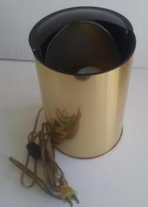 Very Different Vintage Marks Prestige Lamp Round Cylinder Metal