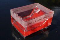 John Player Special Glas Aschenbecher JSP TOP Ascher