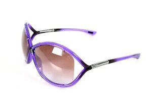 Tom Ford Sunglasses TF9 Purple Whitney Celebrity Favorite!
