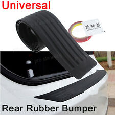 Back Rear Bumper Protector Trunk Sill Plate Rubber Cover Guard Trim For Vauxhall