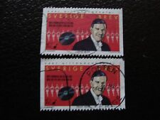 SUEDE - timbre yvert et tellier n° 2062 x2 obl (A29) stamp sweden
